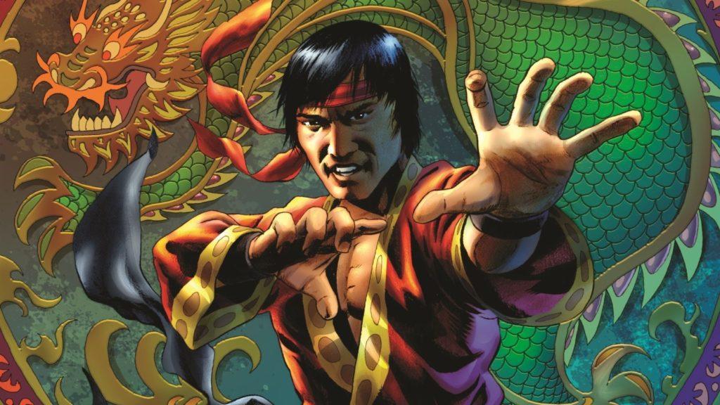 Shang Chi Marvel Comics Kung Fu Stance
