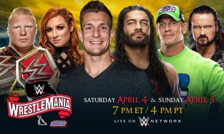 WrestleMania Is Now A Two Night Event