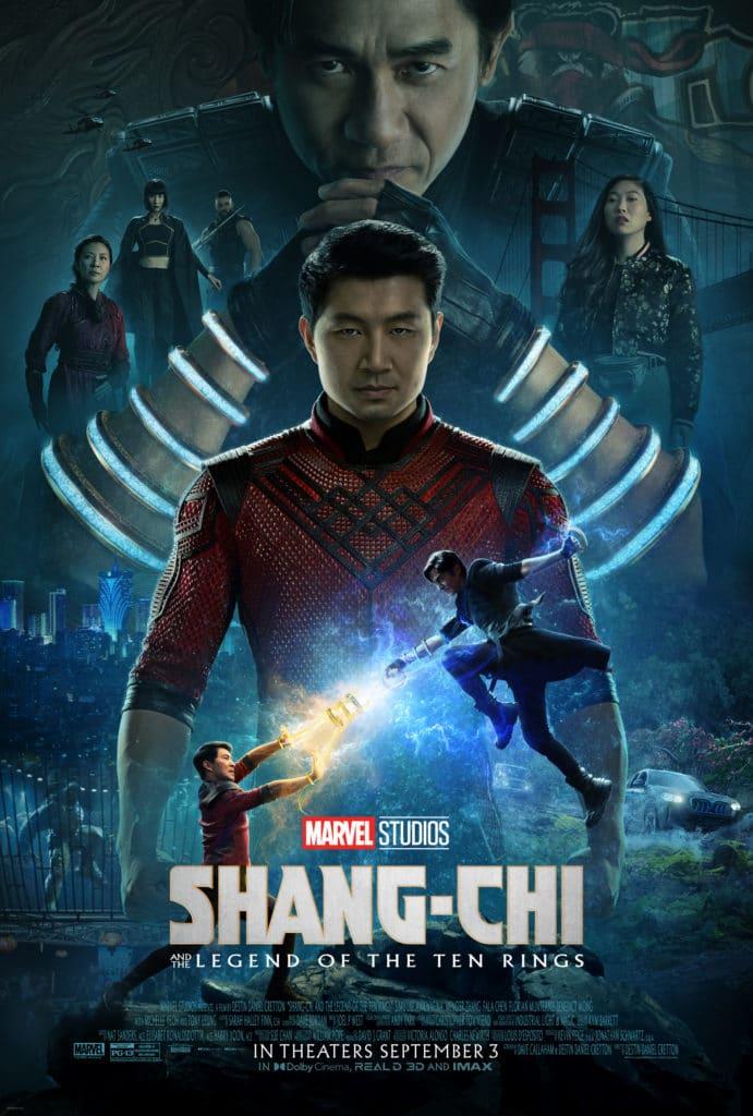 Shang-Chi Poster Simu Liu
