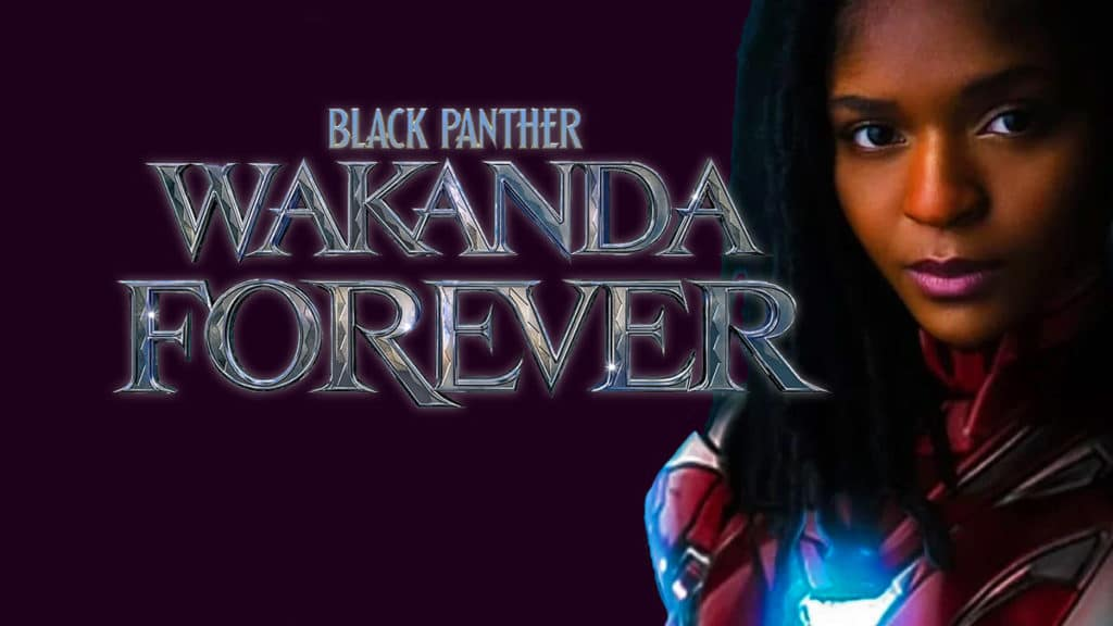 Black Panther 2 Black Panther Wakanda Forever Riri Williams Ironheart Dominique Thorne Letitia Wright
