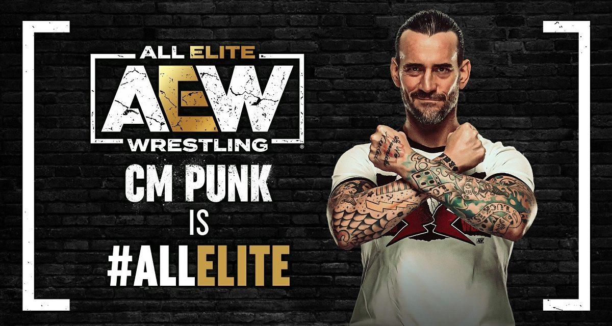 CM Punk Makes His Momentous AEW Debut