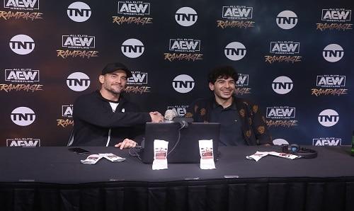 AEW CM Punk And Tony Khan