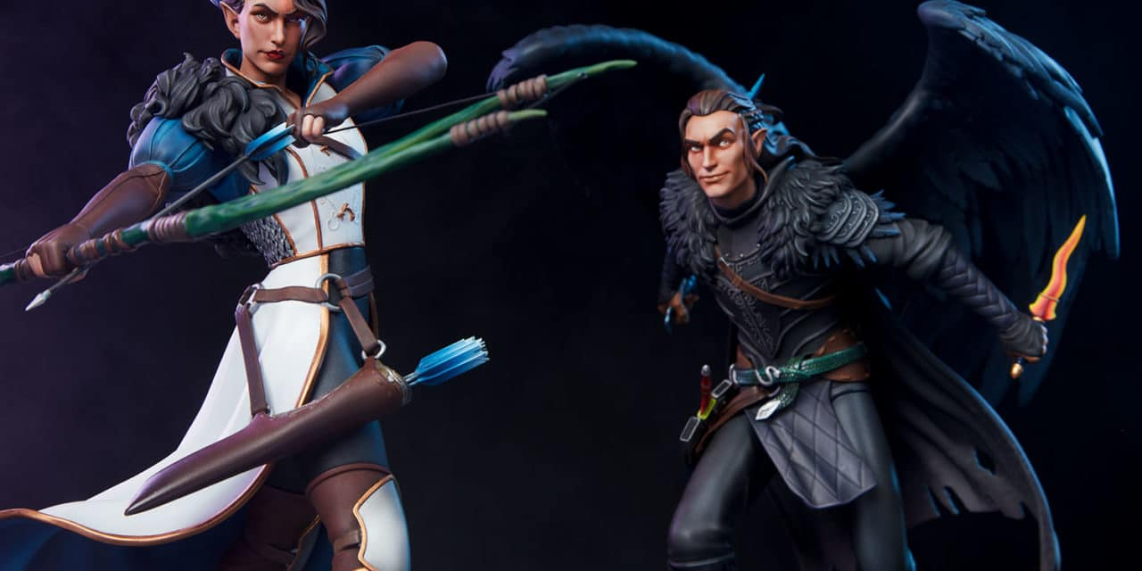 Critical Role Announces 2 New Sideshow Collectibles Statues With Vox Machina's Vex And Vax