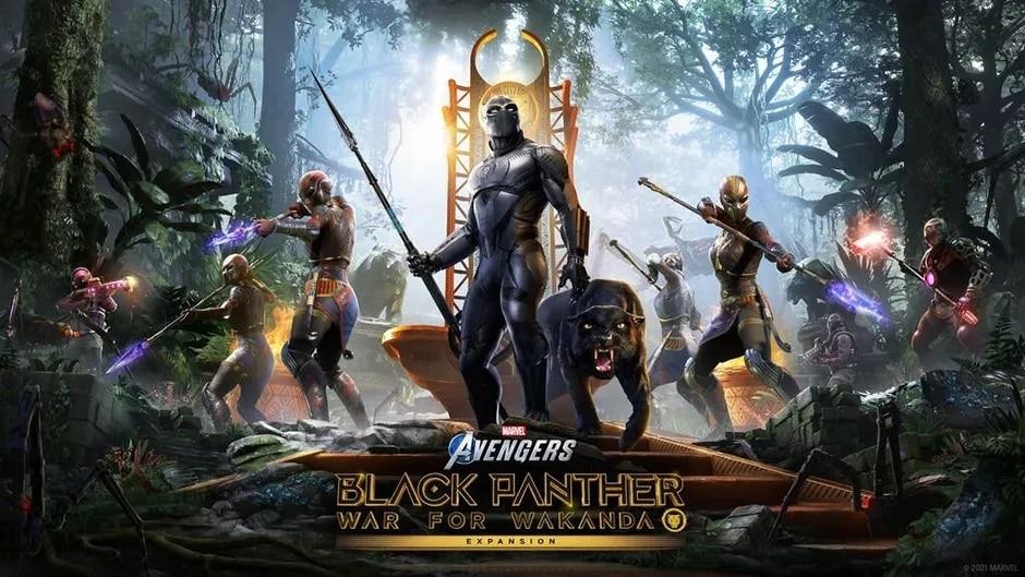 Marvel's Avengers Black Panther War for Wakanda MCU suit